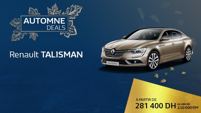 Renault Talisman Chez Renault Maroc - Succursales