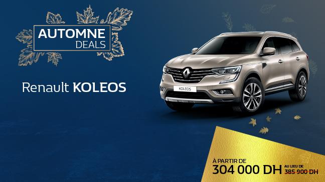 Renault Koleos Chez Renault Maroc - Succursales